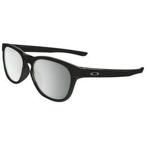 Oakley Square Style Chrome Iridium Mirrored Lens